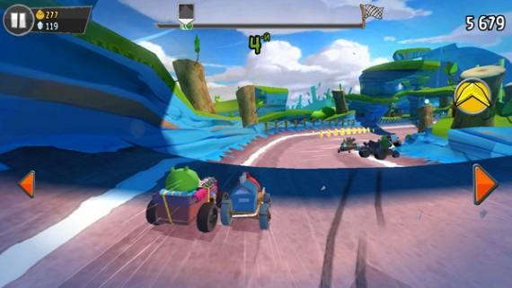 Гонки Angry Birds Go