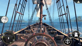 Управление судном в игре Assassins Creed Pirates