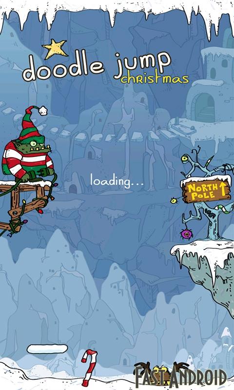 Аркада doodle jump christmas