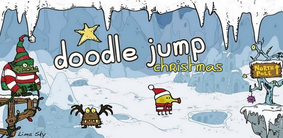 Заставка Doodle Jump Christmas