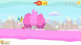 Игра Ski Safari Adventure Time