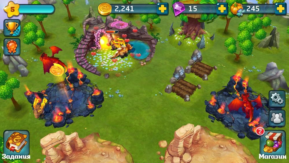 Скачать Бесплатно Игру Земли Драконов На Андроид - фото 2
