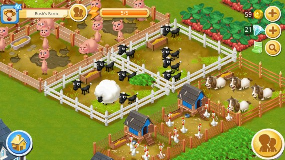 Игра Happy Farm Candy Day