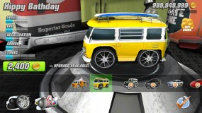 Меню игры Table Top Racing