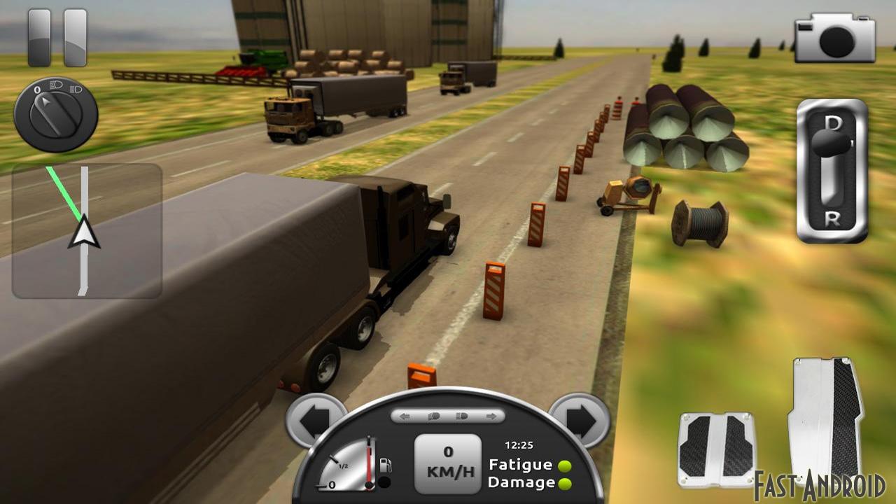 Симулятор Truck Simulator 3D