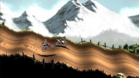 Гонки на мотоциклах Mad Skills Motocross 2