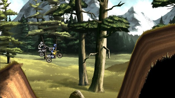 Игра Mad Skills Motocross 2