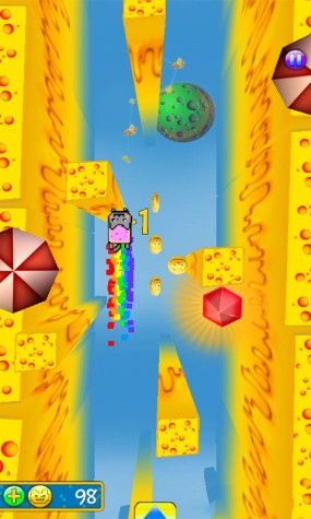 Игра Nyan Cat The Space Journey