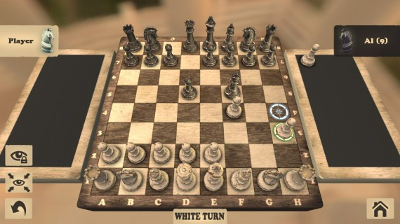 Настольная логическая игра Сhess 3D
