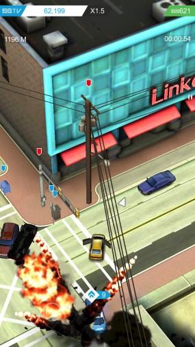 Smash Bandits Racing уходите от полиции