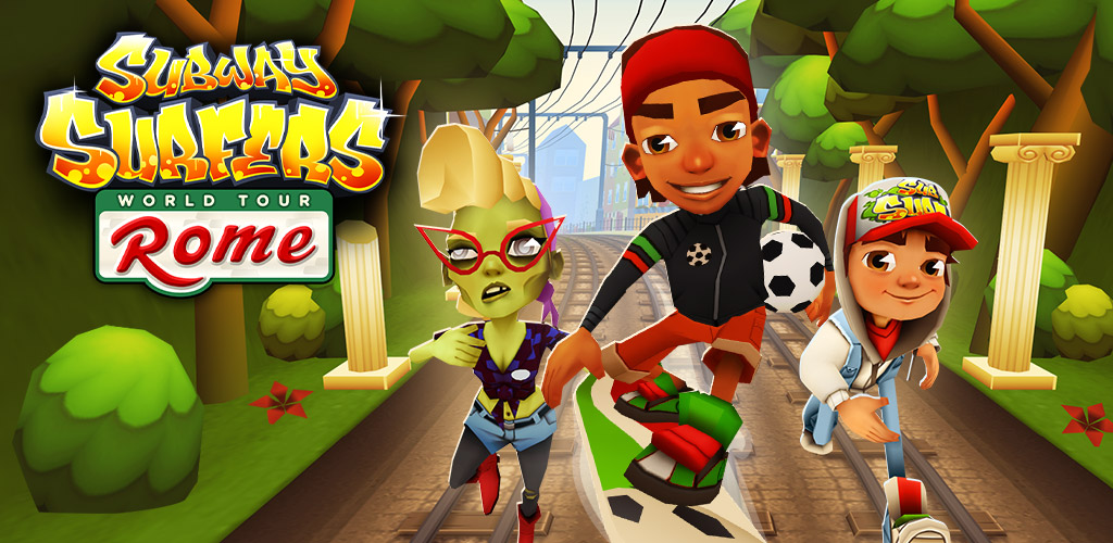 Subway Surfers Rome2