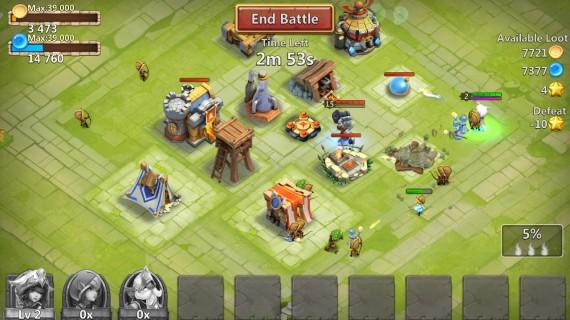 Аркада Castle Clash
