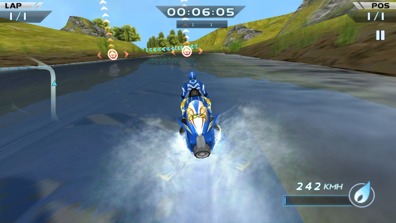 Водные гонки Powerboat Racing