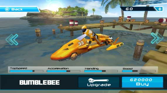 Powerboat Racing для Android