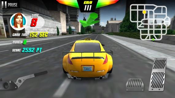 Гонки Taxi Drift