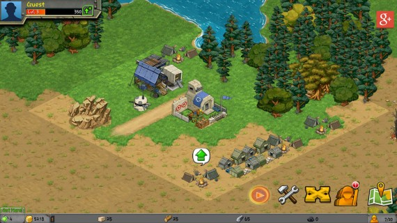 Игра Battle Nations