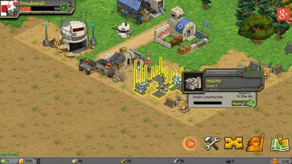 Стратегическая игра Battle Nations