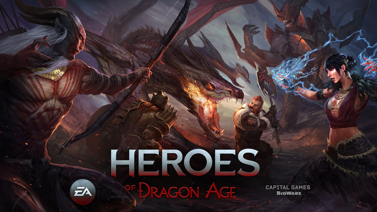Heroes of Dragon Age взлом - mods-android.com