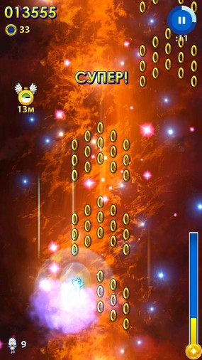 Sonic Jump Fever для Android