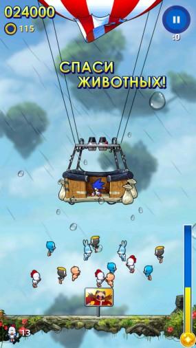 Sonic Jump Fever от разработчиков SEGA