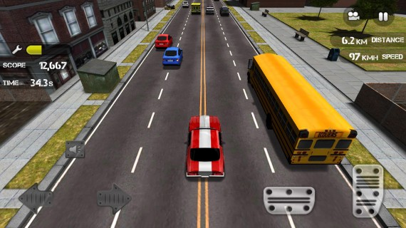 Игра Race The Traffic