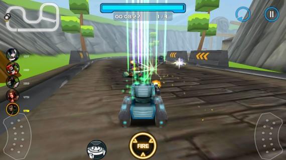 Гонки Racing Tank 2