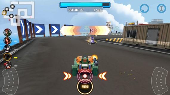 Игра Racing Tank 2