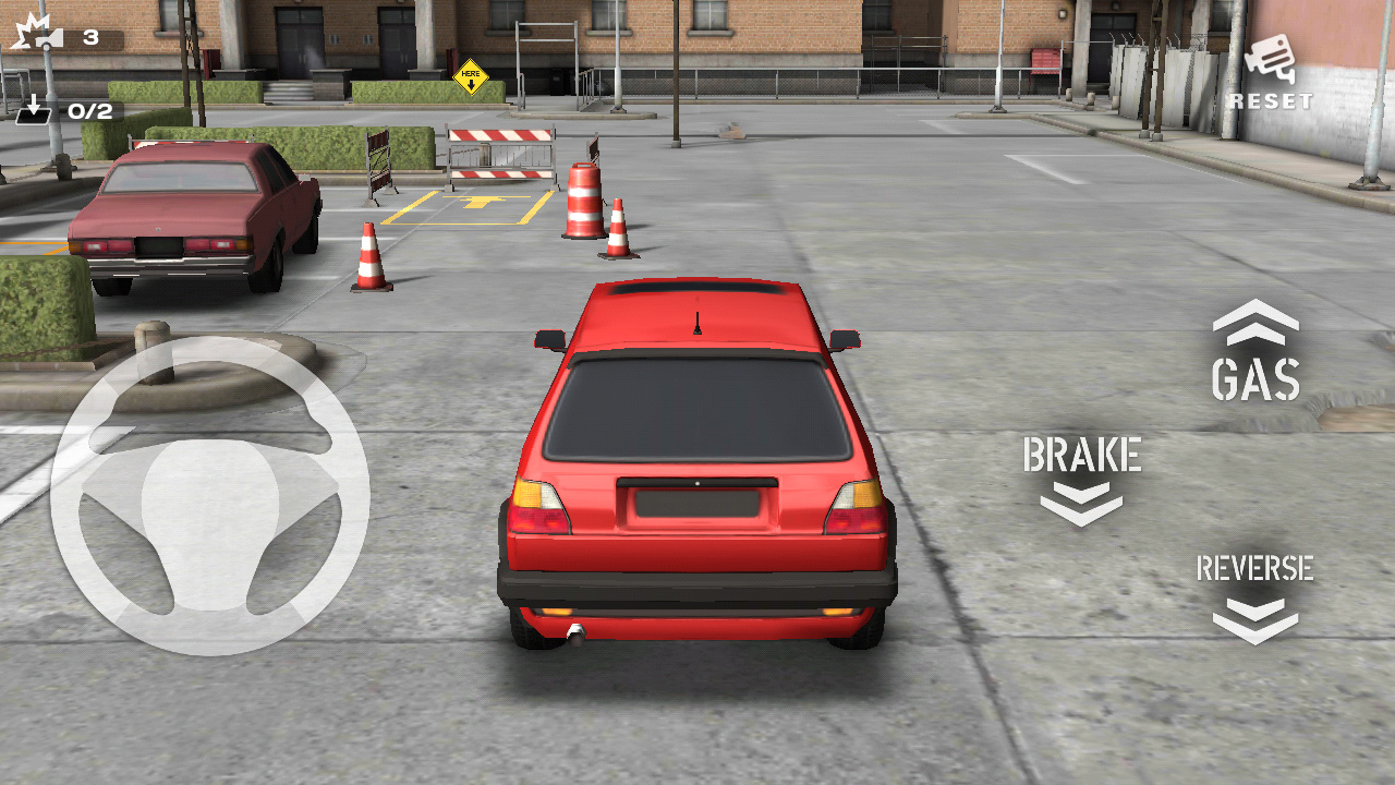 Симулятор Backyard Parking 3D