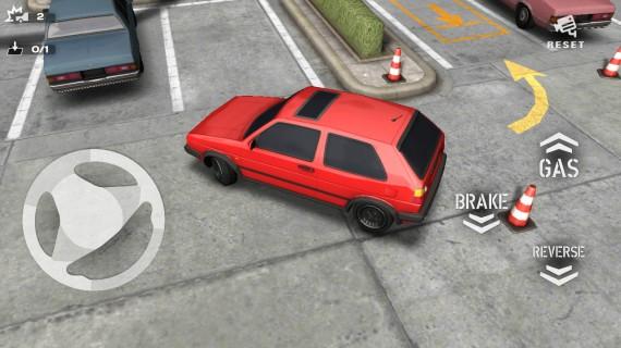 Симулятор парковки Backyard Parking 3D