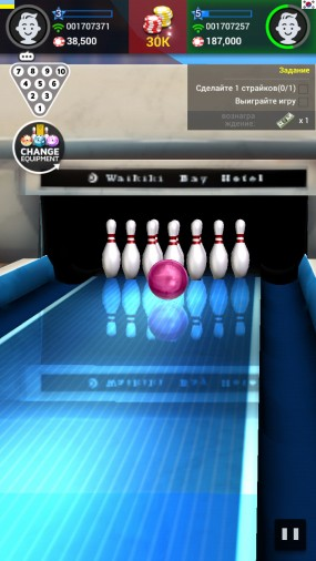 Реалистичный боулинг Bowling King