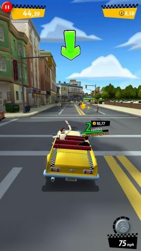 Сумасшедший таксист Crazy Taxi City Rush