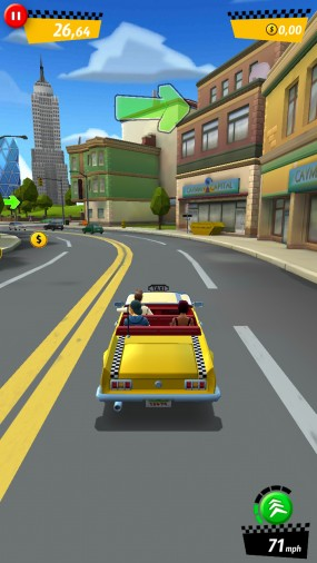 Игра Crazy Taxi City Rush
