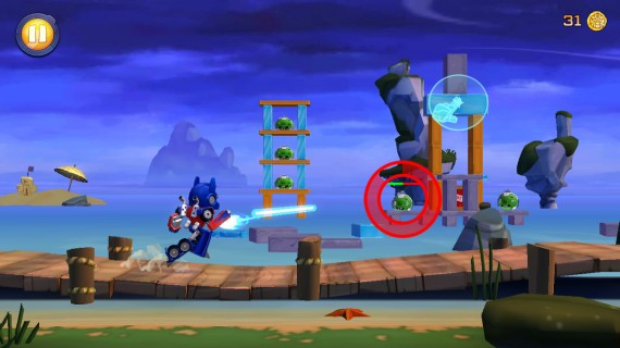 Игра Angry Birds Transformers