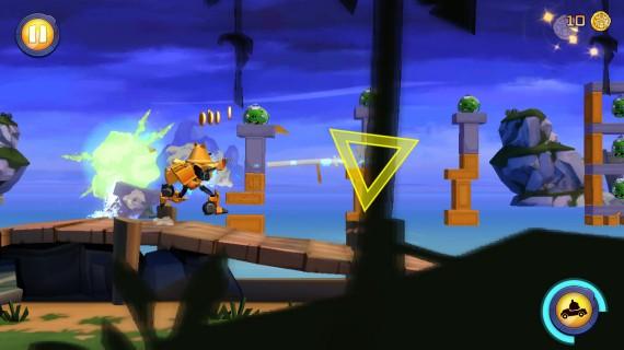 Аркада Angry Birds Transformers