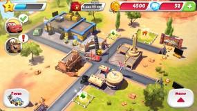 Городок в игре Cars Fast as Lightning