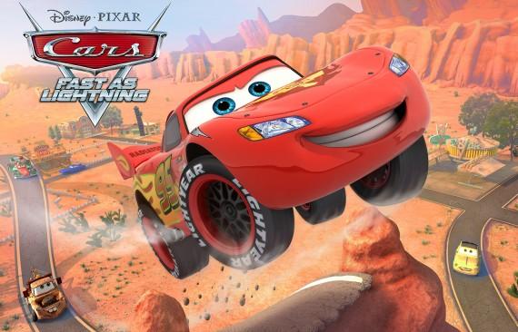 Cars Fast as Lightning