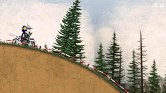 Гонки Stickman Downhill Motocross