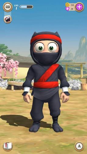 Аркада Clumsy Ninja