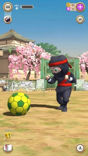 Тренировка в Clumsy Ninja