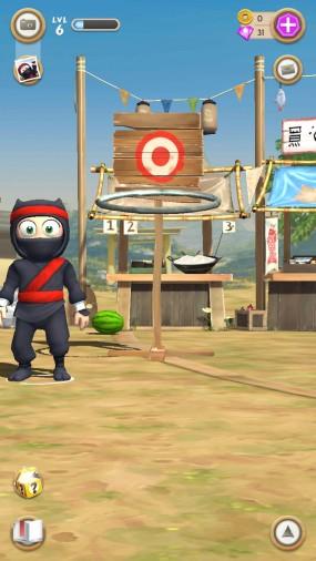 Clumsy Ninja совершенствуй бойца