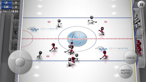 Игра Stickman Ice Hockey