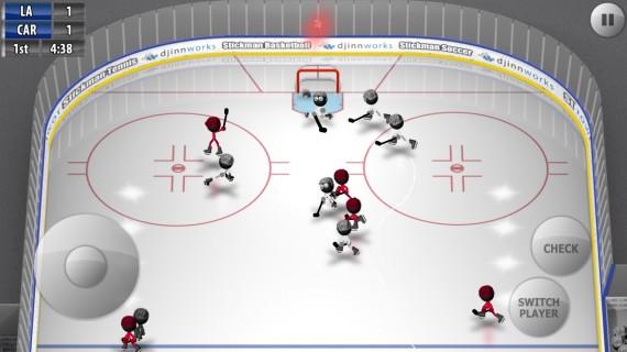 Stickman Ice Hockey для Android