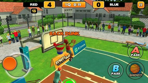 Баскетбол Street Dunk
