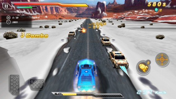Death Race Crash Burn для Android