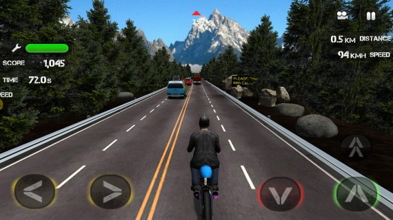 Race the Traffic Moto для Android