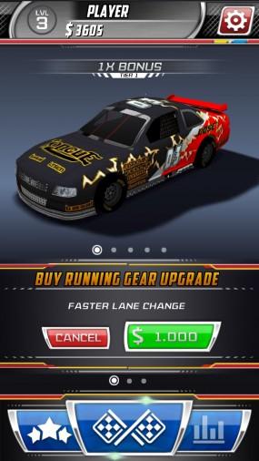 Модификация автомобиля в Daytona Rush