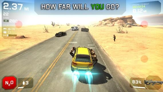 Игра Zombie Highway 2