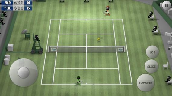 Игра Stickman Tennis 2015