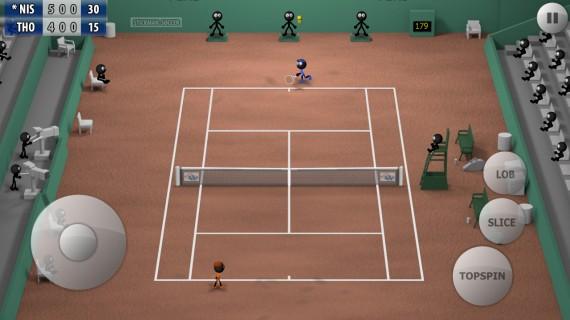 Теннис Stickman Tennis 2015
