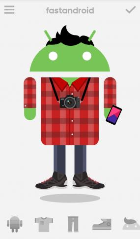 Приложение Androidify